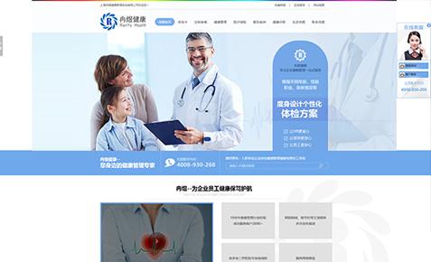 冉煜体检营销型网站建设案例